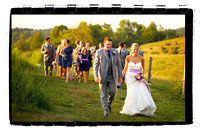 Kelly and Chris at the Barn at Gibbet Hill