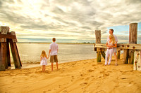 Britta's Family photos at Plum Island