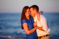 Ellie and Paul Engagement Photos at Plum Island