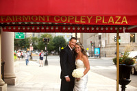 The Fairmont Copley Plaza wedding photos - Stephanie and Jon